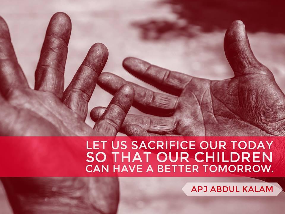 A P J Abdul Kalam quotes